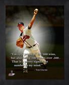 Atlanta Braves Tom Glavine 8x10 Pro Quote