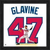 Atlanta Braves Tom Glavine 20X20 Framed Uniframe Jersey Photo