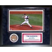 Atlanta Braves Tim Hudson 11x14 Framed Mini Dirt Collage