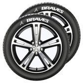 Atlanta Braves Tire Tatz