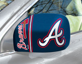 Atlanta Braves Mirror Cover - Small