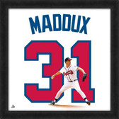 Atlanta Braves Greg Maddux 20X20 Framed Uniframe Jersey Photo
