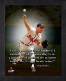 Atlanta Braves Greg Maddux 11x14 Pro Quote