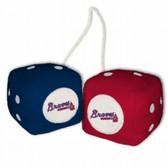 Atlanta Braves Fuzzy Dice