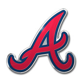 Atlanta Braves Color Auto Emblem - Die Cut