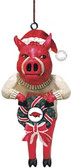 Arkansas Razorbacks Mascot Wreath Ornament