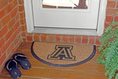 Arizona Wildcats Half Moon Door Mat