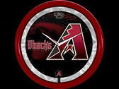 Arizona Diamondbacks Plasma Clock