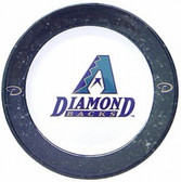 Arizona Diamondbacks 4 Piece Dinner Plate Set