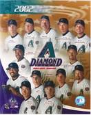 Arizona Diamondbacks 2002 Team 8x10 Photo