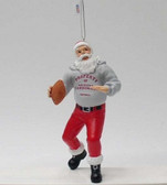 Arizona Cardinals Santa Claus Christmas Ornament