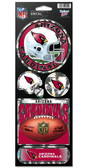 Arizona Cardinals Prismatic Stickers