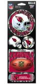 Arizona Cardinals Prismatic Stickers