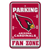 Arizona Cardinals Plastic Parking Sign - Fan Zone