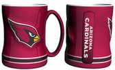 Arizona Cardinals Coffee Mug - 15oz Sculpted