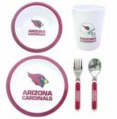 Arizona Cardinals 5 Piece Children's Dinner Set