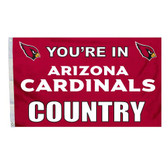 Arizona Cardinals 3 Ft. X 5 Ft. Flag W/Grommets 94122B