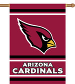 Arizona Cardinals 2-Sided 28 X 40 House Banner