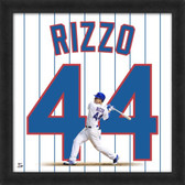 Anthony Rizzo Chicago Cubs 20x20 Framed Uniframe Jersey Photo