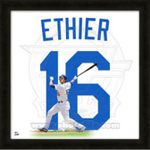 Andre Ethier Los Angeles Dodgers 20x20 Framed Uniframe Jersey Photo