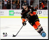 Anaheim Ducks Ryan Kesler 2014-15 Action 40x50 Stretched Canvas