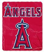 Anaheim Angels 50x60 Fleece Blanket - Wicked Design
