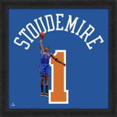 Amare Stoudemire New York Knicks 20x20 Framed Uniframe Jersey Photo