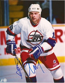 Alexei Zhamnov Winnipeg Jets Signed 8x10 Photo