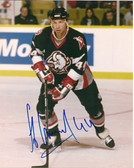 Alexei Zhitnik Buffalo Sabres Signed 8x10 Photo