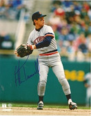 Alan Trammell Detroit Tigers Signed 8x10 Photo #2