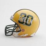 Ahman Green Green Bay Packers Mini Helmet