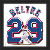 Adrian Beltre Texas Rangers 20x20 Framed Uniframe Jersey Photo