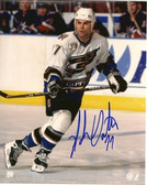 Adam Oates Washington Capitals Signed 8x10 Photo