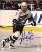 Adam Oates Washington Capitals Signed 8x10 Photo