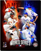 2014 World Series Matchup San Francisco Giants vs Royals 16x20 Stretched Canvas