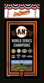 2014 World Series Champions San Francisco Giants Framed Championship Banner