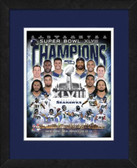 2014 Seattle Seahawks Super Bowl 48 Champs Composite Matted and Framed AAQP12838TCM-16x20