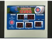 Chicago Cubs Scoreboard Desk & Alarm Clock