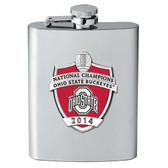 Ohio State Buckeyes 2014 National Champions Flask
