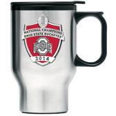 Ohio State Buckeyes 2014 National Champions Travel Mug
