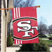 San Francisco 49ers 2'x3' Bold Logo Banner