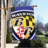 Baltimore Ravens 2'x3' Bold Logo Banner
