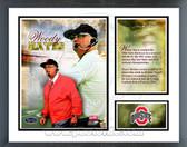 Woody Hayes Ohio State Buckeyes Milestones & Memories Framed Photo