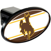 Wyoming Cowboys Trailer Hitch Cover