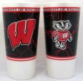 Wisconsin Badgers Souvenir Cups