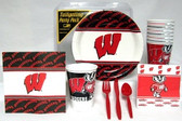 Wisconsin Badgers Party Supplies Pack #1