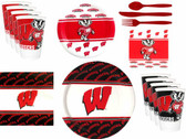Wisconsin Badgers Party Supplies Pack #2
