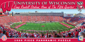 Wisconsin Badgers Panoramic Stadium Puzzle