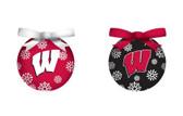 Wisconsin Badgers LED Box Set Ornaments