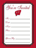 Wisconsin Badgers Formal Invitations